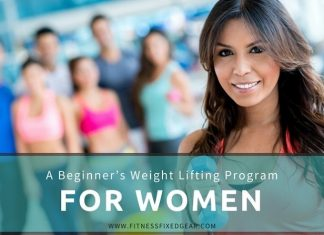 weight lifting program for women - cover photo