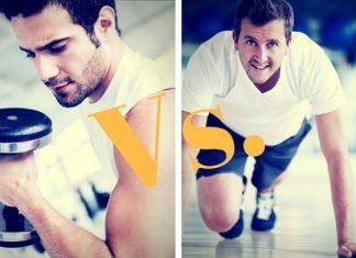Weight Lifting Vs Body Weight Training