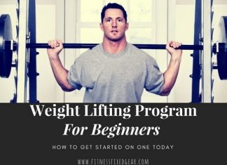 weight lifting program for beginners - Cover Photo