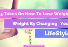 Changing Your LifeStyle - lose weight