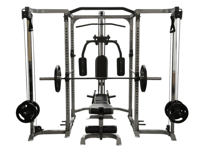 attachmetns of a power rack