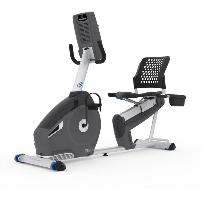 nautilus recumbent bike r614