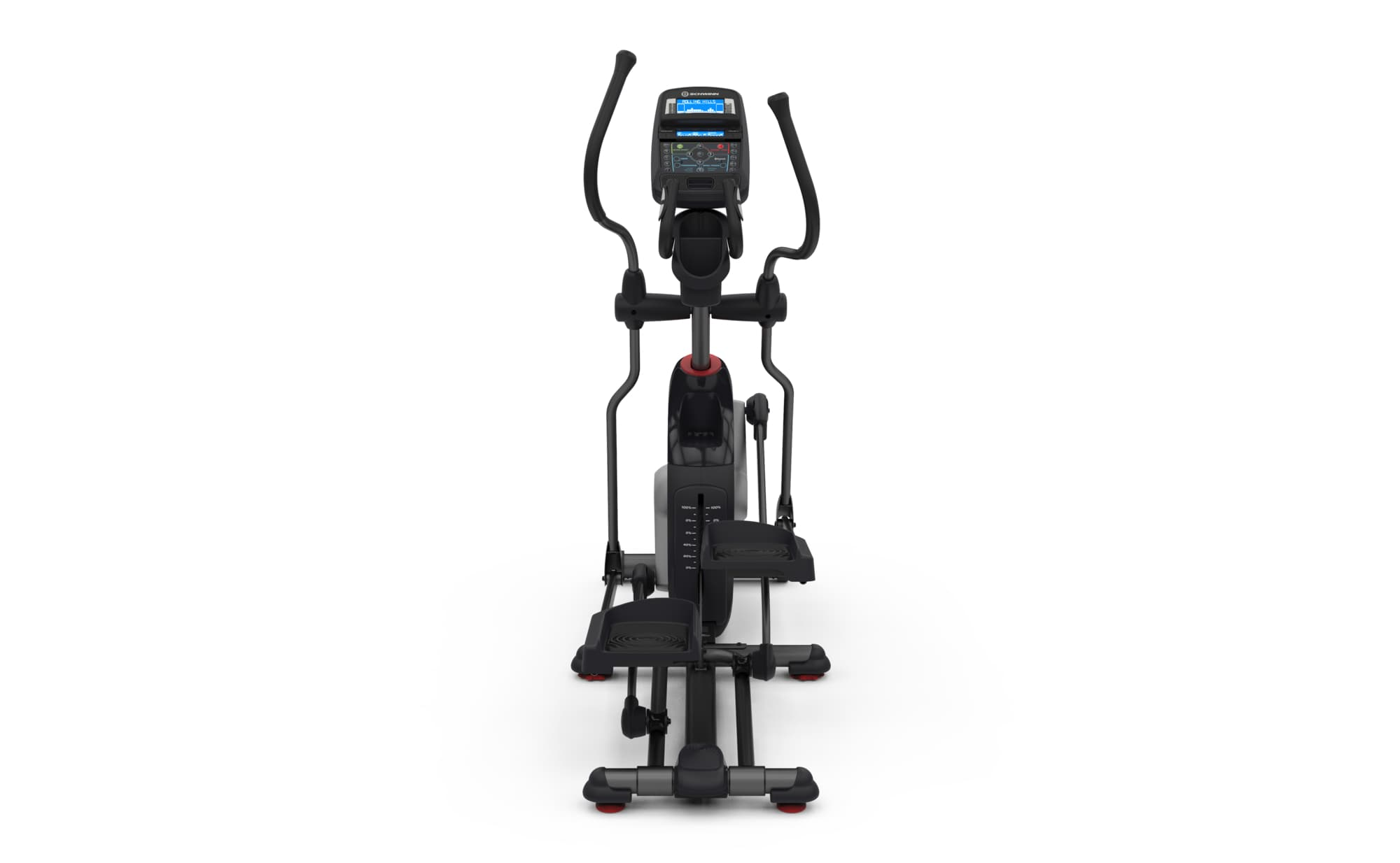 front view of the 470 elliptical